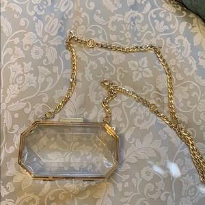 Juicy Couture Clear Crossbody Bag
